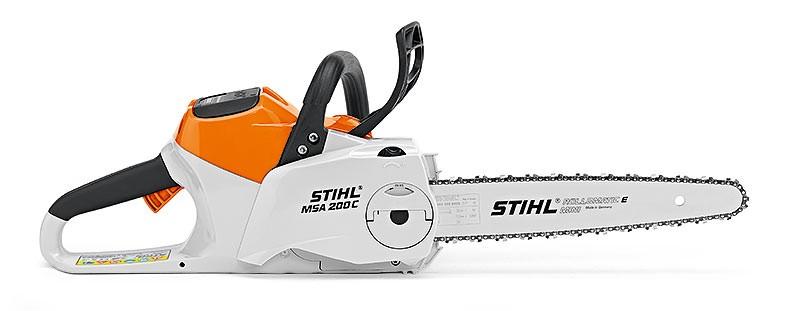 Akumulátorová motorová píla STIHL MSA 200 C-BQ