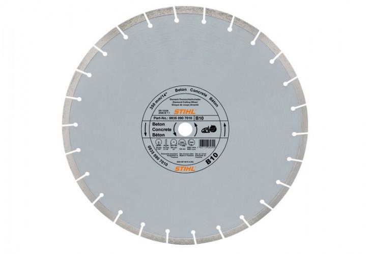 Diamantový rozbrusovací kotúč - Betón (B) 350 mm D-B60