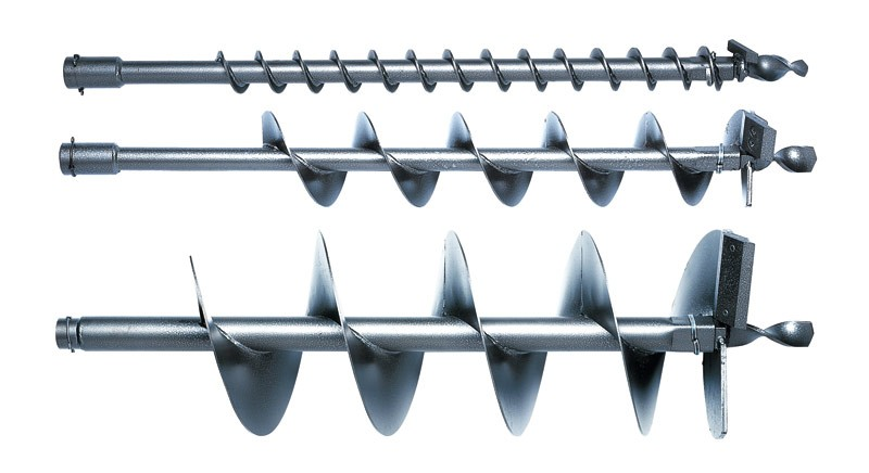 Zemný vrták, pre BT 106, 106 C, 120 C, 121, dĺžka 695 mm 90 mm