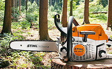 Motorové píly pre rezanie palivového dreva a údržbu pozemku