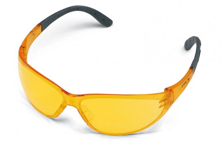 Ochranné okuliare CONTRAST, žlté
