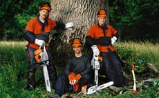 Motorové píly pre lesníctvo