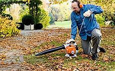 Motorové fúkače a záhradné vysávače