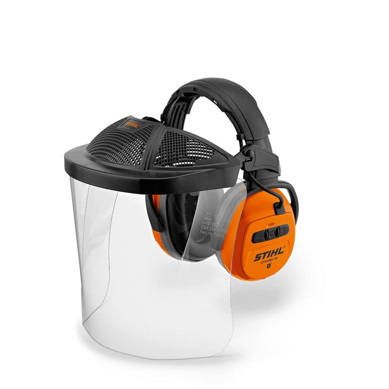 Ochrana tváre a sluchu DYNAMIC BT-PC